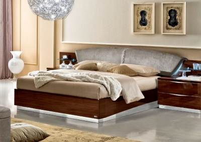 Camel Onda Night Walnut Italian Drop Bed