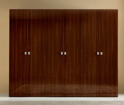 Camel Onda Night Walnut Italian Wardrobe