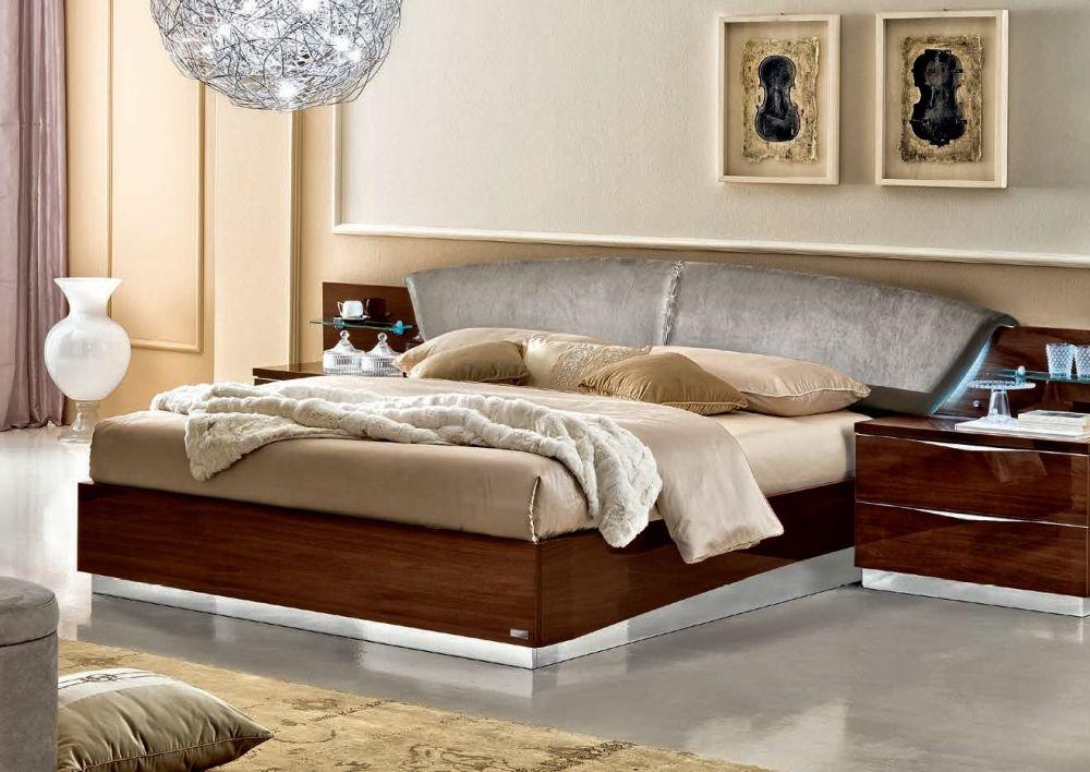 Camel Onda Night Walnut Italian Drop Bed