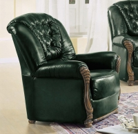 Camel Pisa Italian Leather Armchair
