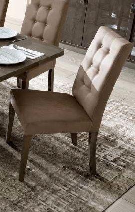 Camel Platinum Day Dama Silver Birch Eco Nabuk Vermont Italian Dining Chair