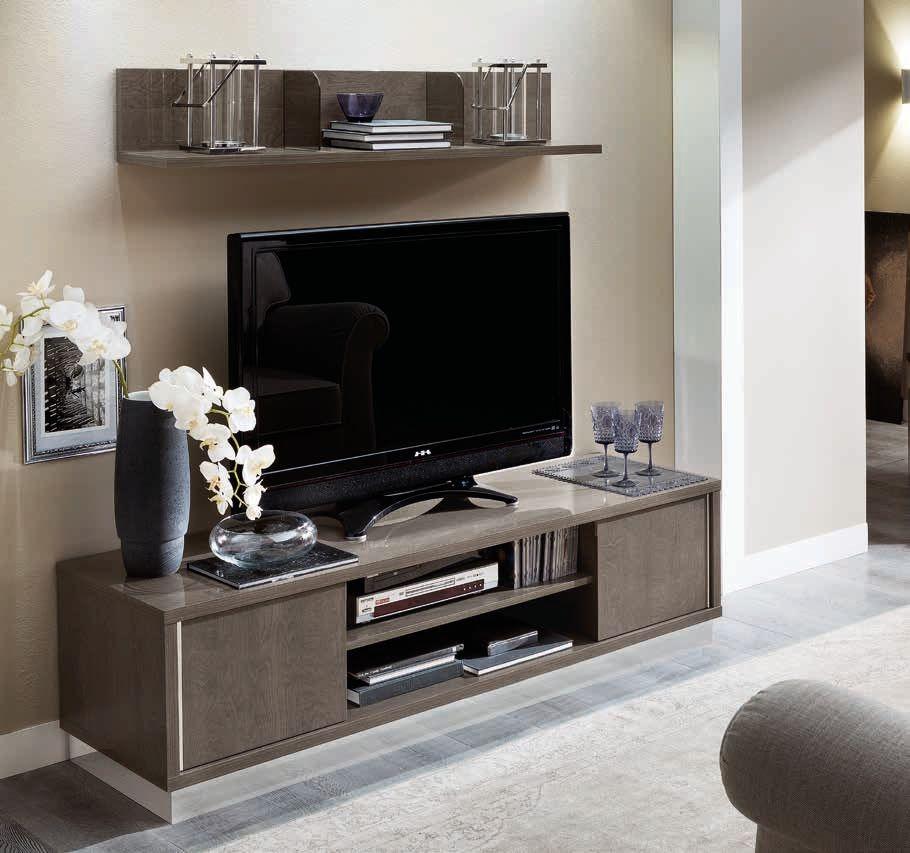 Camel Platinum Italian TV Cabinet