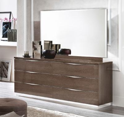 Camel Platinum Night Italian 6 Drawer Dresser