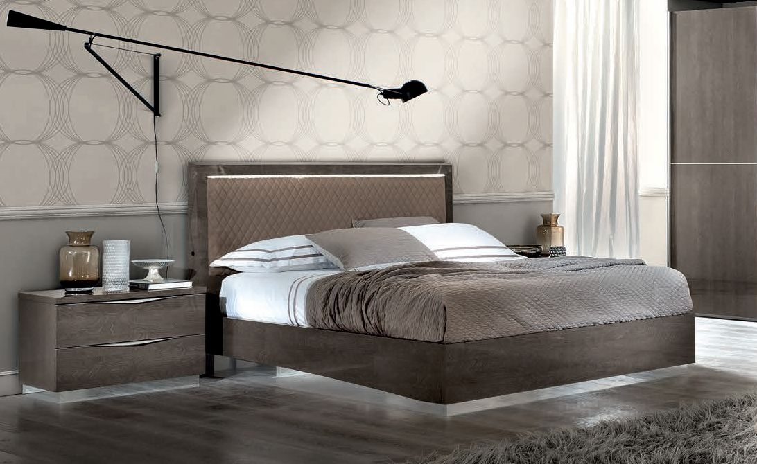Camel Letto Rombi Platinum Night Italian Bed