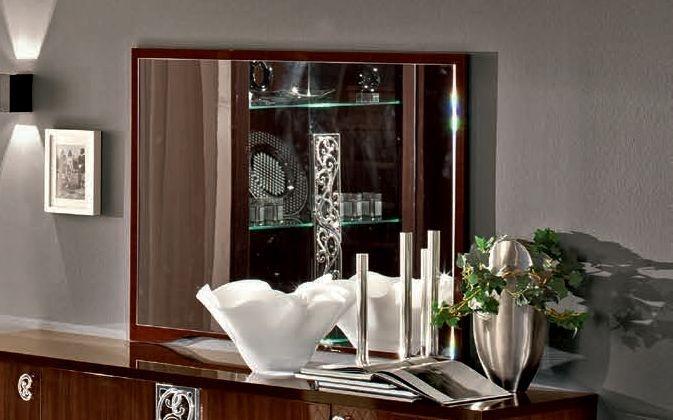 Camel Roma Day Walnut Italian Mirror - 120cm x 90cm