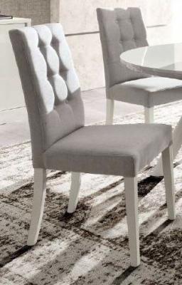 Camel Roma Day Dama White Mojito Fabric Italian Dining Chair