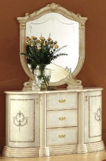 Camel Rossella Italian Buffet - 2 Door with Mirror