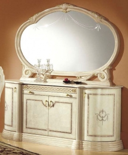 Camel Rossella Italian Buffet - 4 Door with Mirror