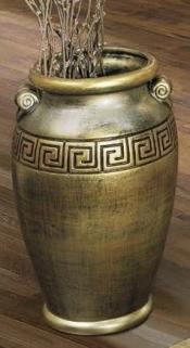 Camel Rossella Italian Mecca Gold Umbrella Vase 263