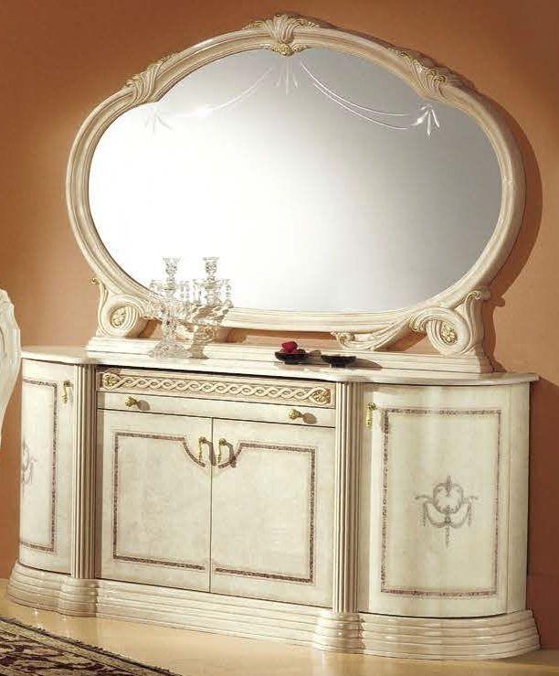 Camel Rossella Italian Buffet - 4 Door with Mirror