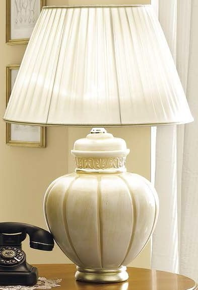 Camel Rossella Italian Gold Finish Lamp 282