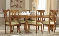 Camel Siena Day Cherry Italian 200cm Rectangular Extending Dining Table