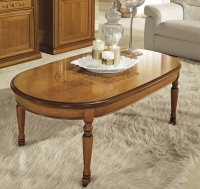 Camel Siena Day Cherry Italian Coffee Table