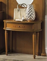 Camel Siena Day Cherry Italian Console Table