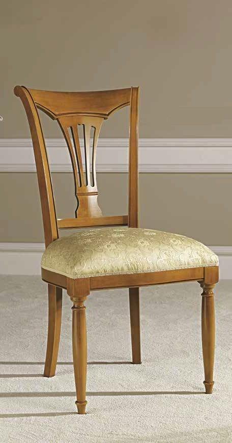 Camel Siena Day Cherry Italian Dining Chair (Pair)