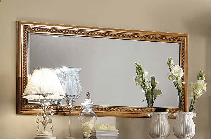 Camel Siena Day Cherry Italian Rectangular Mirror - 161cm x 76cm