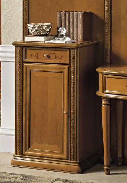 Camel Siena Day Cherry Italian 1 Door Buffet Sideboard