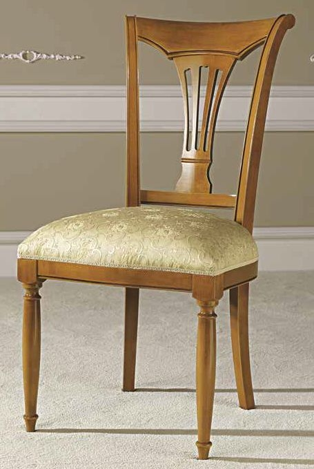 Camel Siena Day Cherry Italian Dining Chair