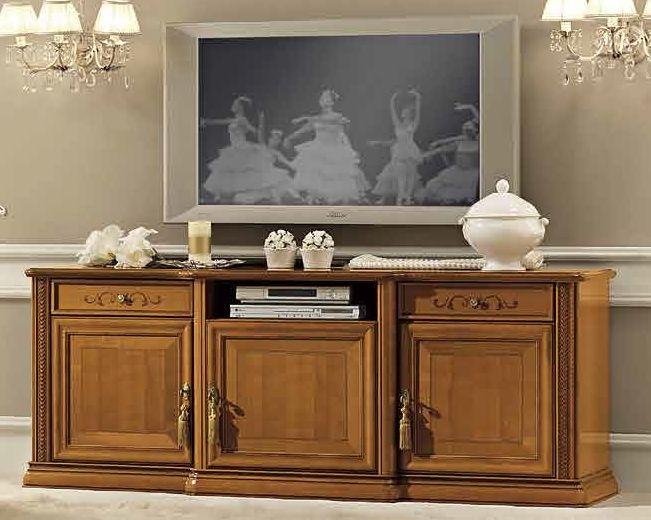Camel Siena Day Cherry Italian Maxi TV Cabinet