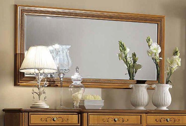 Camel Siena Day Cherry Italian Rectangular Mirror - 161cm x 4cm