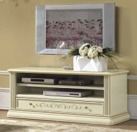 Camel Siena Day Ivory Italian Mini TV Cabinet
