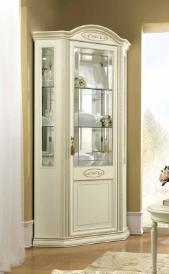 Camel Siena Day Ivory Italian 1 Right Corner Unit with LED Light