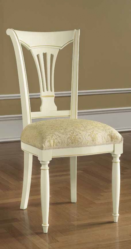 Camel Siena Day Ivory Italian Dining Chair (Pair)