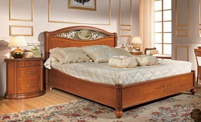 Camel Siena Night Ferro Cherry Italian 5ft King Size Ring Bed
