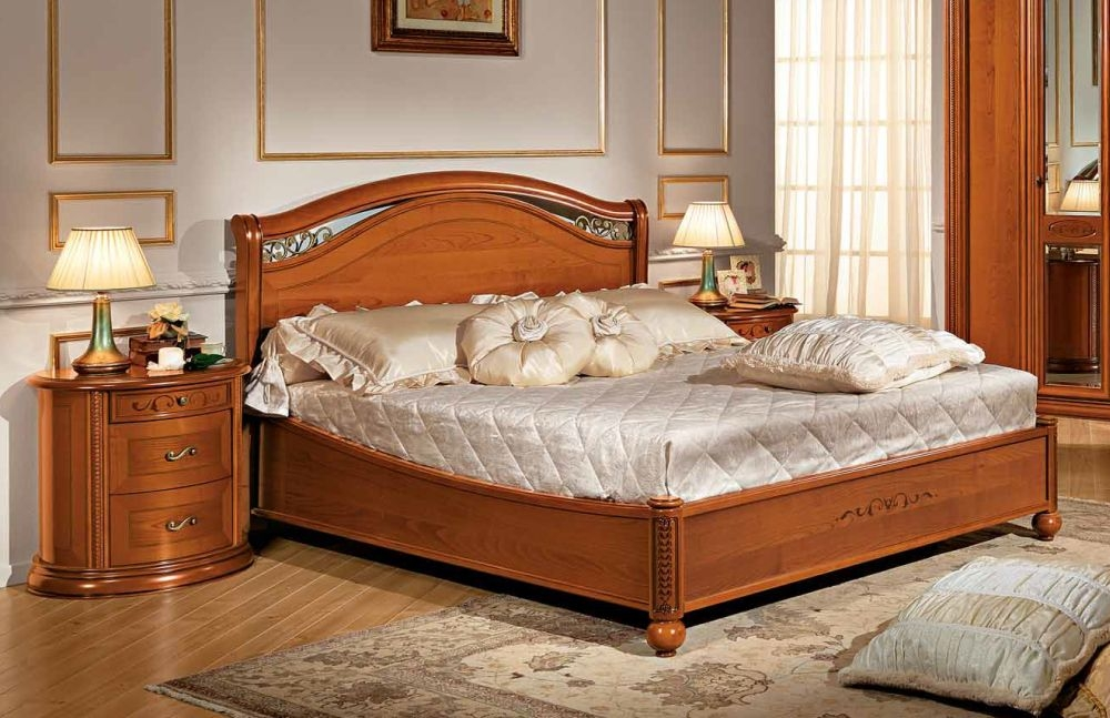 98af28840abc Buy Camel Siena Night legno Cherry Italian 5ft King Size Ring Bed Online - CFS  UK