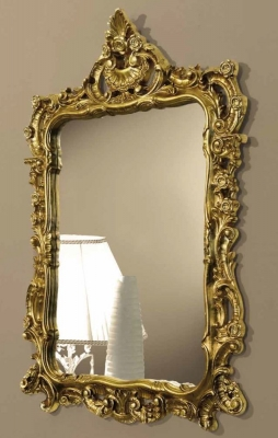 Camel Siena Night Ivory Italian Gold Mirror