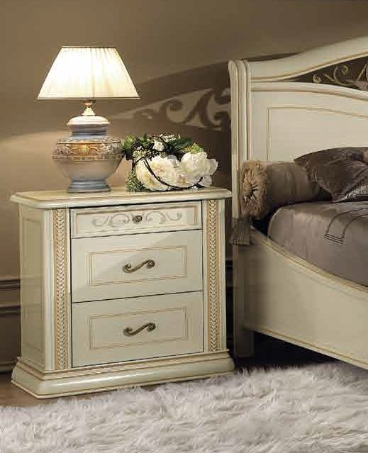 Camel Siena Night Ivory Italian Arena Night Table
