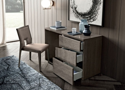Camel Tekno Night Silver Birch Italian Dressing Table