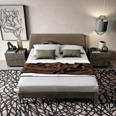 Camel Tekno Night Silver Birch Italian Saturno Bed