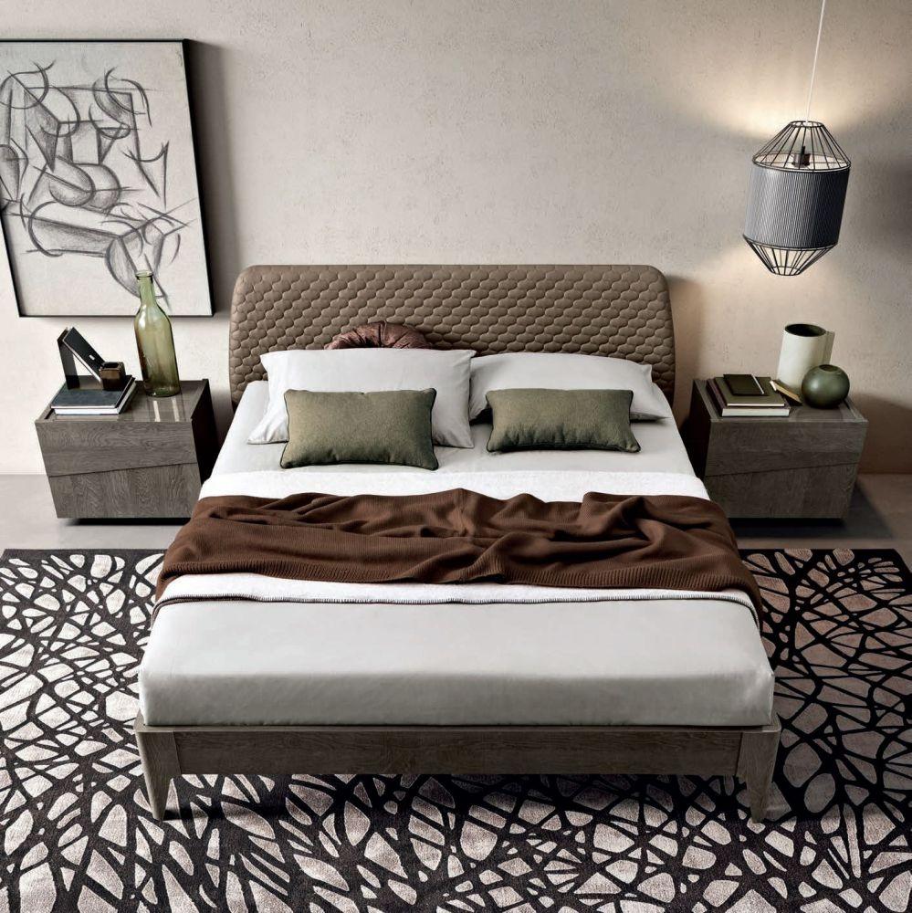 Camel Tekno Night Silver Birch Italian Saturno Bed