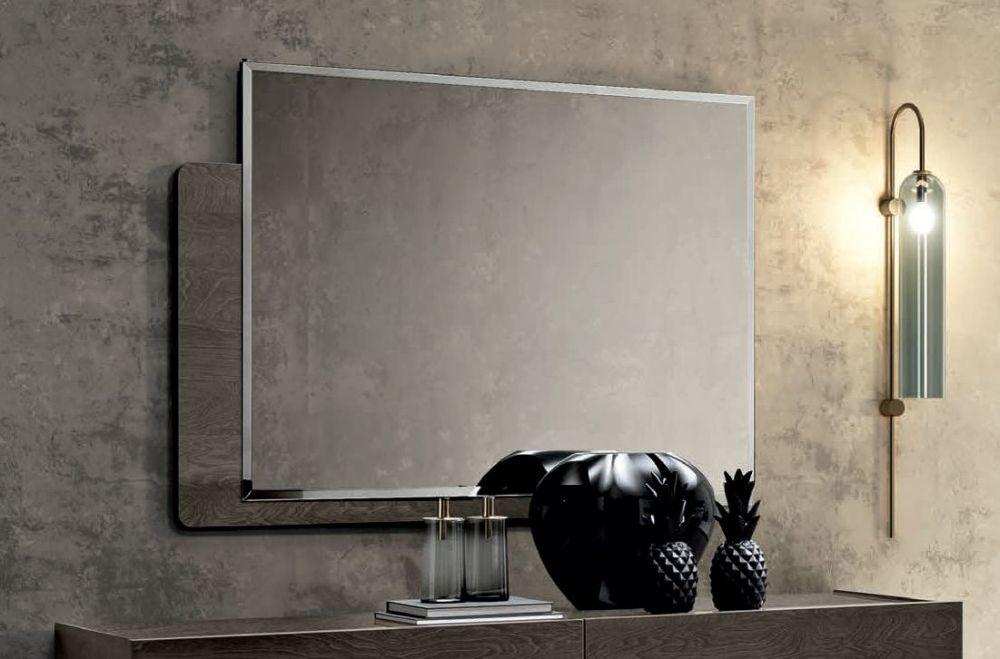 Camel Tekno Night Silver Birch Italian Rectangular Mirror - 120cm x 90cm