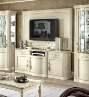 Camel Torriani Day Ivory Italian Maxi TV Cabinet
