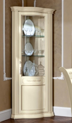 Camel Torriani Day Ivory Italian Right Corner Unit with LED Light