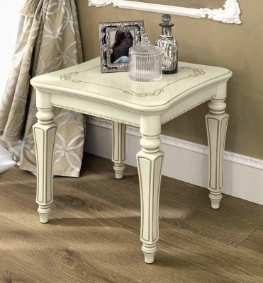 Camel Torriani Day Ivory Italian Lamp Table