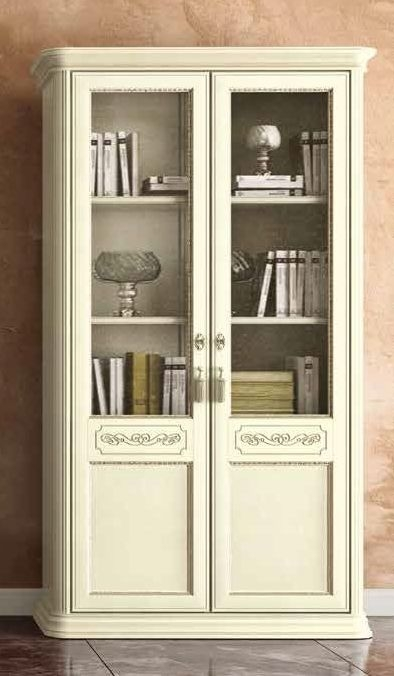 Camel Torriani Day Ivory Italian 2 Door Bookcase