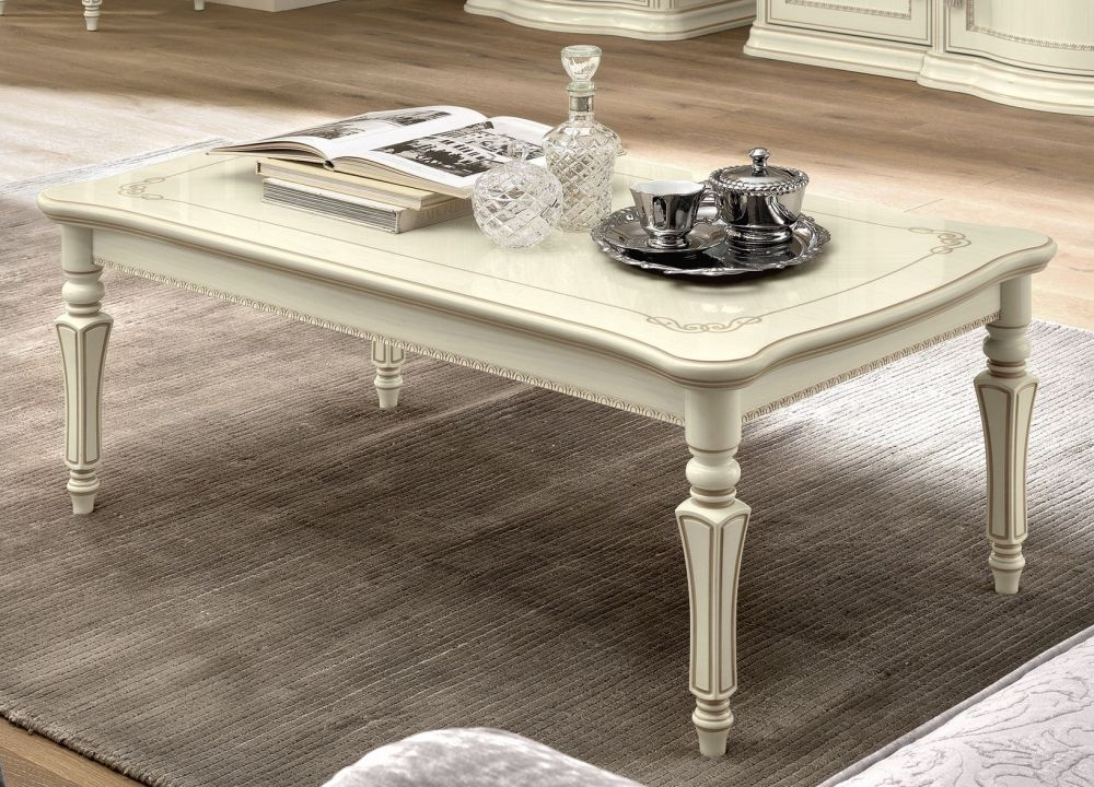Camel Torriani Day Ivory Italian Coffee Table
