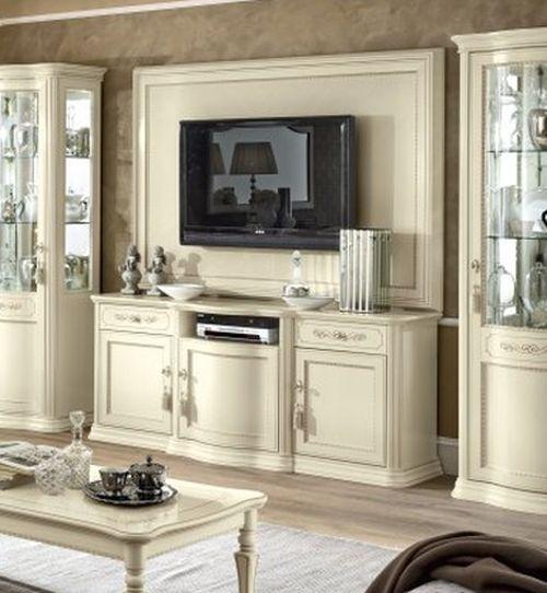 Camel Torriani Day Ivory Italian Maxi TV Cabinet