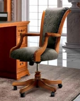 Camel Torriani Day Walnut Italian Armchair