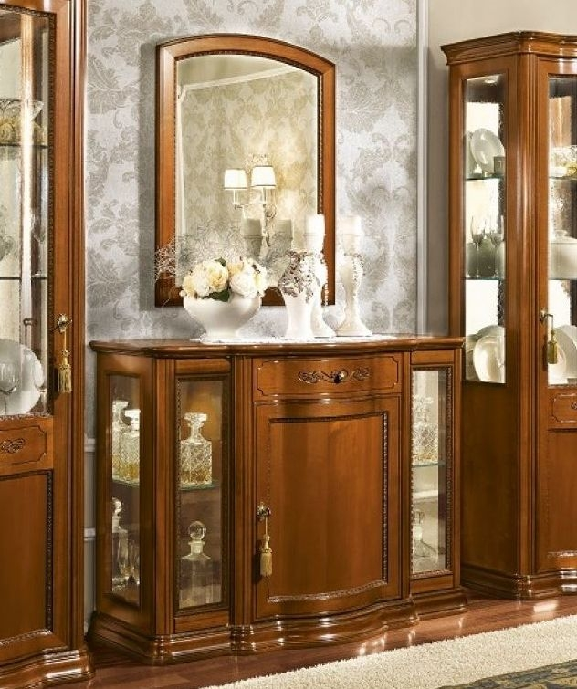 Camel Torriani Day Walnut Italian Buffet Sideboard Bar