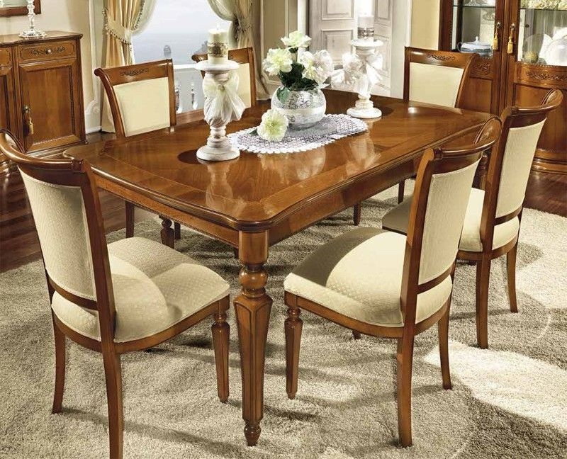 Camel Torriani Day Walnut Italian Extending Dining Table