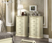 Camel Torriani Night Ivory Italian VIP 5 Drawer Chest