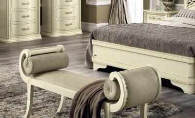 Camel Torriani Night Ivory Italian Curve Bench