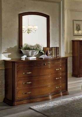 Camel Torriani Night Walnut Italian VIP Dresser