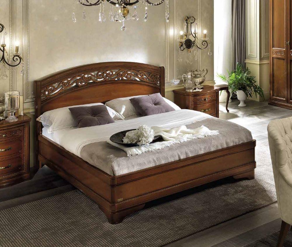 Camel Torriani Night Walnut Botticelli Italian Ring Bed