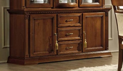 Camel Treviso Day Cherry Wood Italian 2 Door Buffet Sideboard