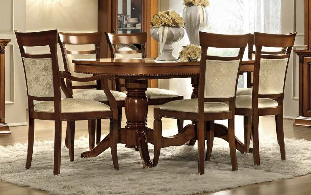 Extending Dining Table And Chairs, Cherry Wood Dining Room Sets